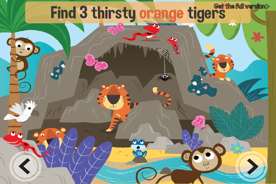 Screenshot Jungle Adventure: Free educational kid's game